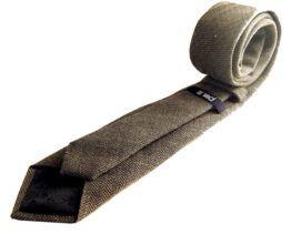 corbata estrecha jaspeada