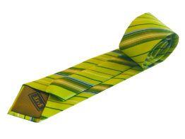 corbata rayas verdes